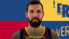 """Mirotic declara su amor eterno al Barcelona: """"Cule Forever"""""""