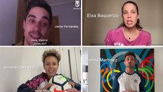 El deporte madrileño empuja a la ciudadanía en lo peor del coronavirus