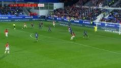 Gol de Iñaki Williams (0-3) en el Huesca 0-4 Athletic