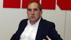 Fran Garagarza, director deportivo del Eibar, de visita en MARCA