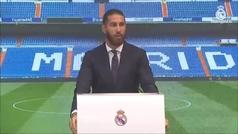 Así fue el discurso de despedida de Sergio Ramos