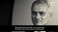 La primera rueda de prensa de Mourinho como técnico del Tottenham