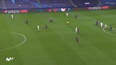 Davies y el jugadón de la Champions: se va de Messi, de Arturo Vidal, 'burrea' a Semedo...