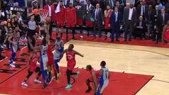 Calderón ejecuta a la perfección la venganza de Casey en Toronto
