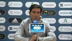 """Marcelino: """"Los jugadores están a tope, como cañones"""""""