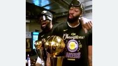 La película de los Lakers en la Burbuja