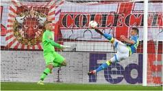 Europa League (octavos, vuelta): Resumen y goles del RB Salzburgo 3-1 Nápoles