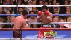 Mejores momentos del Pacquiao contra De la Hoya