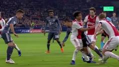 Gol de Lewandowski (p.) (2-2) en el Ajax 3-3 Bayern