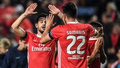 Champions League (Grupo G): Resumen y goles del Benfica 3-0 Zenit