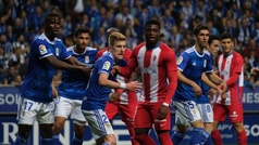 LaLiga 123 (J14): Resumen y goles del Oviedo 2-1 Sporting