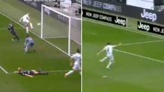 La jugada del partido: ¿Fallo de Cristiano o asistencia de locos a Morata?