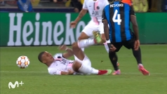 Mbappé se fue del campo lesionado