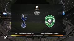 Europa League (J4): Resumen y goles del Tottenham 4-0 Ludogorest