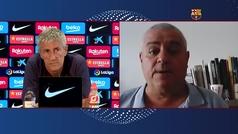 La respuesta de Setién para justificar que debe seguir siendo entrenador del Barça