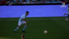 Gol de David López (p.p.) (0-1) en el Celta 1-1 Espanyol