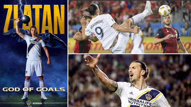 Zlatan Joins Messi & Ronaldo In 500 Club