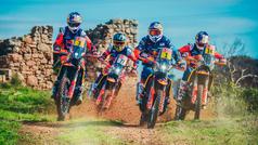 El equipo KTM defiende el trono en el Dakar 2019