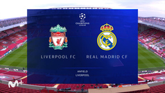 Champions League (vuelta 1/4): Resumen del Liverpool 0-0 Real Madrid