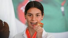 """Alegna González: """"Me gustaría ir a Paris 2014 y pelear por una medalla, es mi sueño"""""""