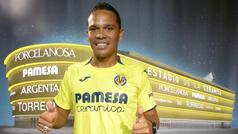 Bacca ya es jugador del Villarreal CF