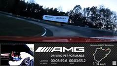 La vuelta récord del AMG GT Black Series en Nurburgring