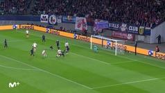 Gol de Forsberg (3-0) en el RB Leipzig 3-0 Tottenham