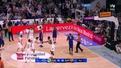 El increíble final del Madrid-Barcelona: triple de Carroll sobre la bocina