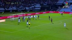 Gol de Araújo (1-0) en el Celta 1-2 Valencia