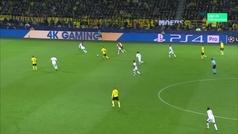 Gol de Alcácer (2-0) Dortmund 3-0 Mónaco