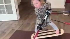 Rylynn, la niña prodigio de 6 años que impresiona a la NHL
