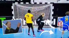 La brutal rosca de un jugador de Angola que te volverá loco: ¡bota un metro al lado y vuelve!
