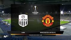 Europa League (octavos, ida): Resumen y goles del LASK Linz 0-5 Manchester United