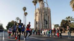 Festival etíope y sendos récords en un Maratón de Sevilla histórico