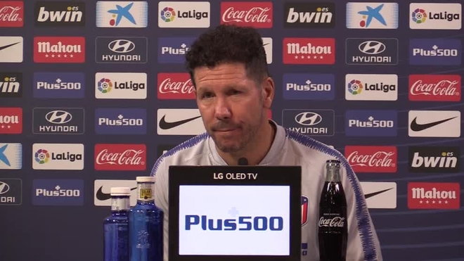 Costa in 'fantastic form' for Madrid derby, insists Simeone