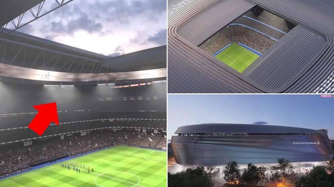 Here is the spectacular new Santiago Bernabeu
