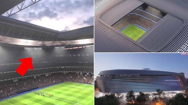La remodelación del Santiago Bernabéu le cuesta 575 millones al Real Madrid