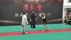 El autoproclamado maestro del tai chi se enfrenta a un amateur y acaba inconsciente