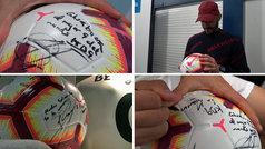 La promesa cumplida de Benzema: ¿a quién le regaló su balón del triplete?