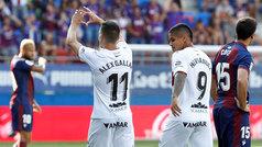 Doblete de Alex Gallar en el histórico debut del Huesca en Primera