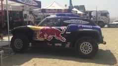 Carlos Sainz sale en la 9ª etapa del Dakar