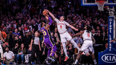Un ex del Barça 'tapona' a LeBron y a sus Lakers