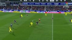 Gol de Gerard Moreno (1-2) en el Huesca 2-2 Villarreal