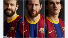 Así es la nueva camiseta del Barça para la 2020/21