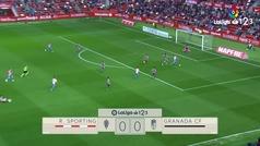 ¡Djurdjevic decidió el Sporting-Granada a los 10 segundos!