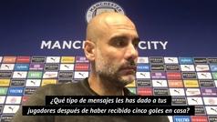 El benévolo mensaje de Pep tras perder 2-5 contra el Leicester City