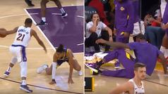 La falta de respeto de Lebron James a un rookie... ¡tras recibir el 'roto' de su vida!