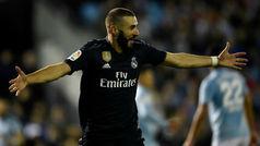 LaLiga (J12): Resumen y goles del Celta 2-4 Real Madrid
