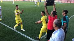 La ovación de Villarreal en la vuelta de Cazorla a un terreno de juego