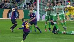 Gol de Messi (0-1) en el Betis 1-4 Barcelona